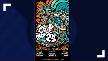 String Cheese Incident to play Red Rocks in July