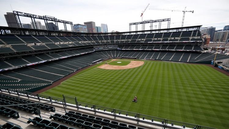 Rockies to host 12,500 fans at Coors Field beginning Opening Day