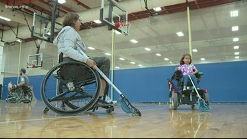 Colorado Wheelchair Sports Camp teaching kids that anything is possible