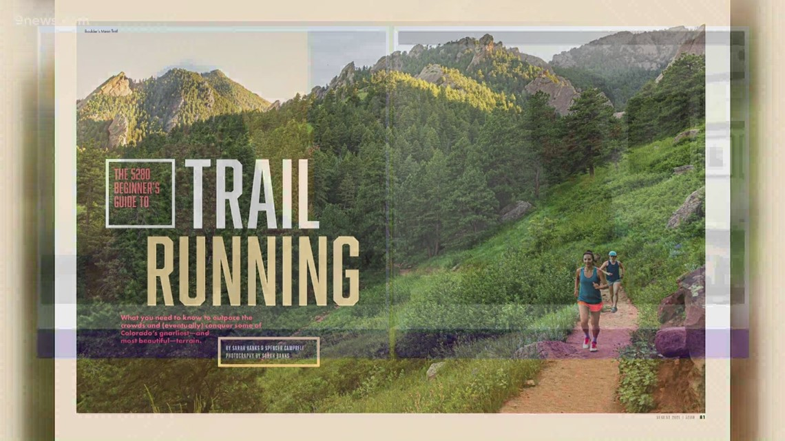 Previewing 5280's guide to trail running in Colorado