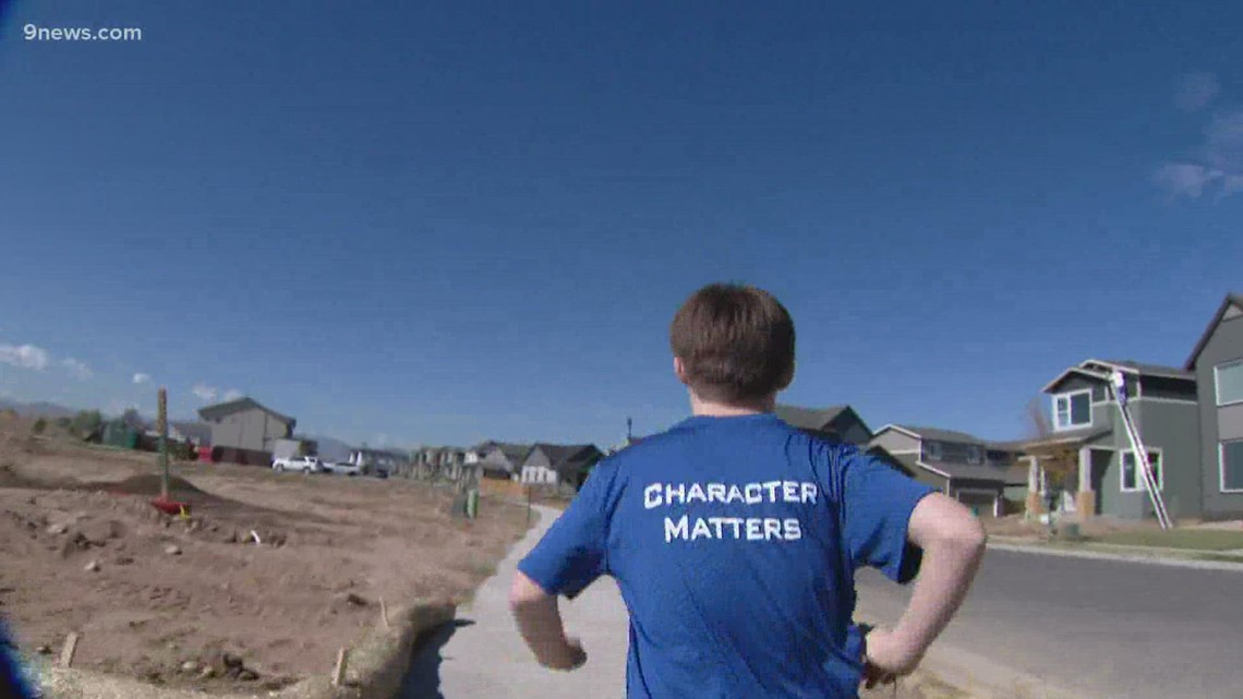 Ft. Collins middle schooler with Down syndrome is competing for a state cross country title