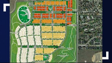 Get a first look at proposed plan for Hughes Stadium site