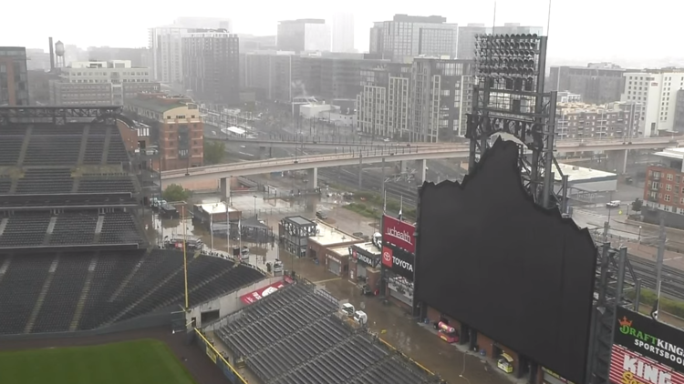 Denver's wet May was a stark contrast to the Pacific Northwest