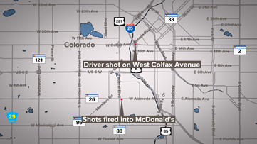 32-year-old woman dies following Saturday shooting on I-25 & Colfax