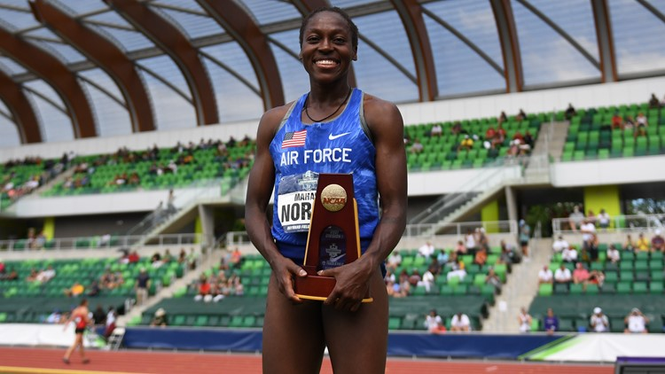 Air Force cross country and track star Mahala Norris wins Mountain West Athlete of the Year
