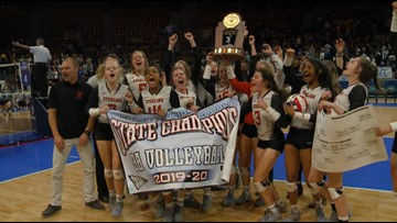 No. 2 Sterling beats No. 1 Lutheran to win 3A volleyball title