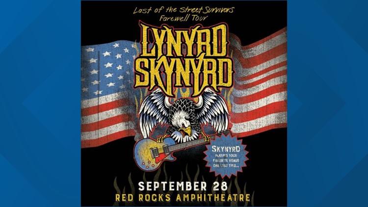 LYNYRD SKYNYRD - Red Rocks Amphitheatre - September 28, 2020