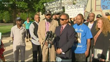 De'Von Bailey's family holds news conference, asks for release of unedited video of officer-involved shooting