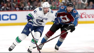 Avalanche skid continues after 5-1 loss to Canucks