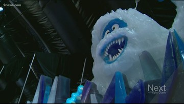 2 million pounds of ice are behind new ice exhibition in Aurora