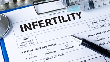 Infertility affects one in 10 couples