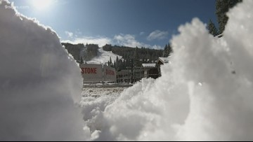 Keystone just inches shy from all-time snow record for October