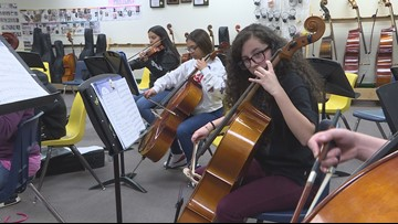 How an instrument drive helped bring passion back to a local middle school music class