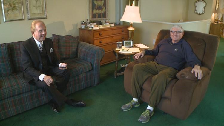 9NEWS Anchor Mark Koebrich interviews Bill McCartney, who despite an Alzheimer's diagnosis remains as gregarious as ever.