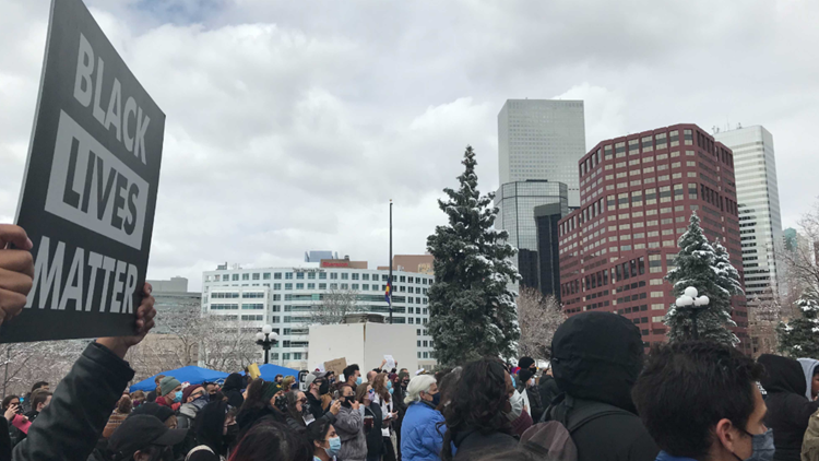 Sit-in held at Colorado Capitol to protest police shooting of Ma'Khia Bryant