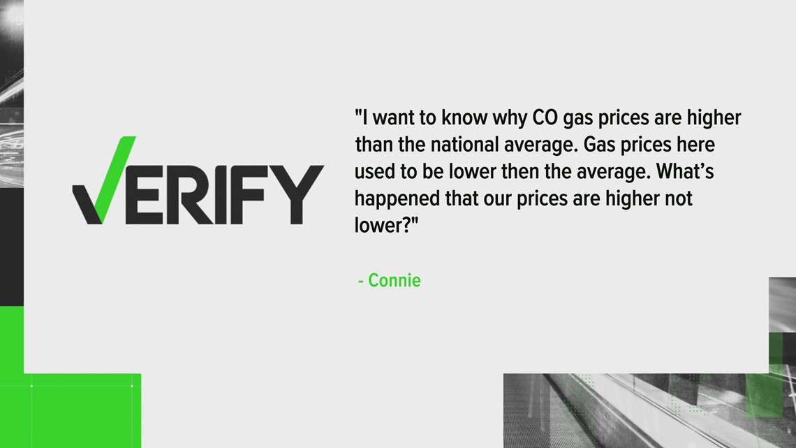 Why are Colorado's gas prices so high?