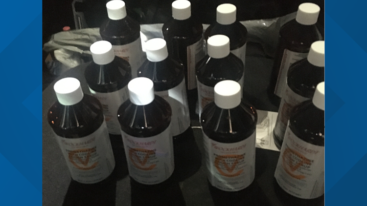 12 Pints Of Purple Drank Found During Colorado Traffic Stop 9news Com