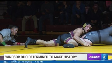 Windsor wrestling duo looking to make history