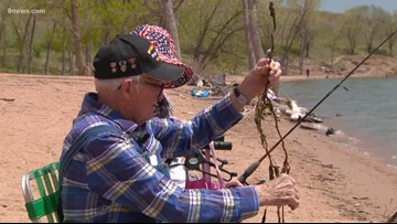 Storytellers: 104-year-old veteran, his 94-year-old girlfriend practice patience, fun while fishing
