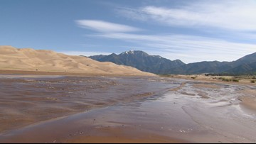 Headed to the Great Sand Dunes to see the surge flow? Here's what you need to know