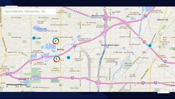 Power outage affecting 13,000 customers in North Denver