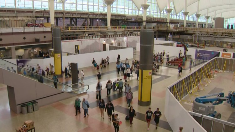 DIA passengers to see increased construction activity in 2021