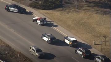 Search for woman underway after stolen Porsche found on I-70 Frontage Road
