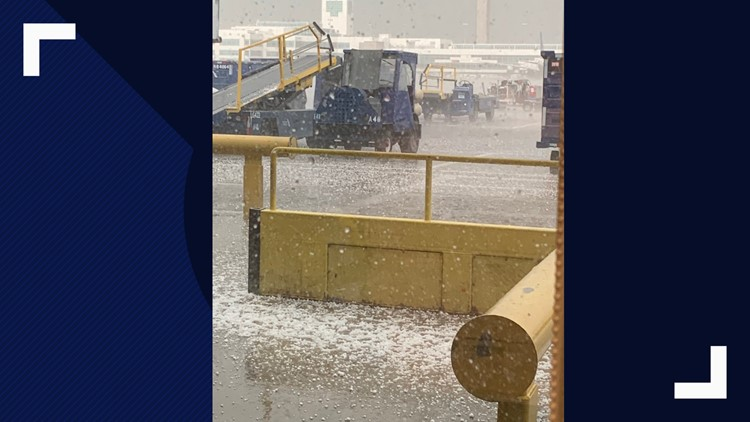 Severe weather causes delays, cancellations at DIA
