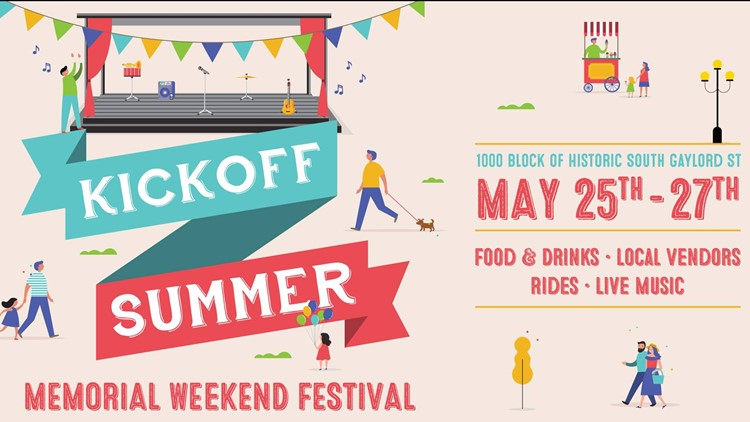 Old South Gaylord Street ‎Kickoff to Summer Memorial Weekend Festival