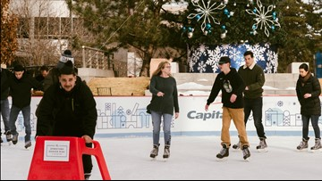 Snow won't stop Skyline Park Ice Rink from opening