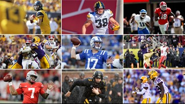 If the Broncos do hold at No. 10 in the NFL Draft, their pick should come from this list