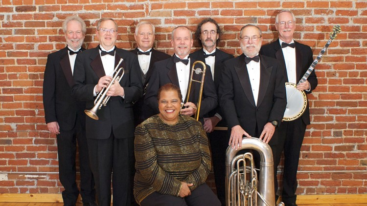 "Ovation West Performing Arts and the Evergreen Jazz Festival present ""Queen City Jazz Band: A Shining Stars Concert"""