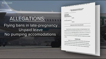 Pilots, flight attendants sue Frontier Airlines for discrimination