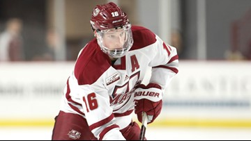 From Frozen Four to NHL playoffs: Cale Makar signs with Avs
