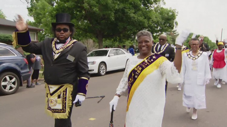 Denver celebrates Juneteenth with annual parade