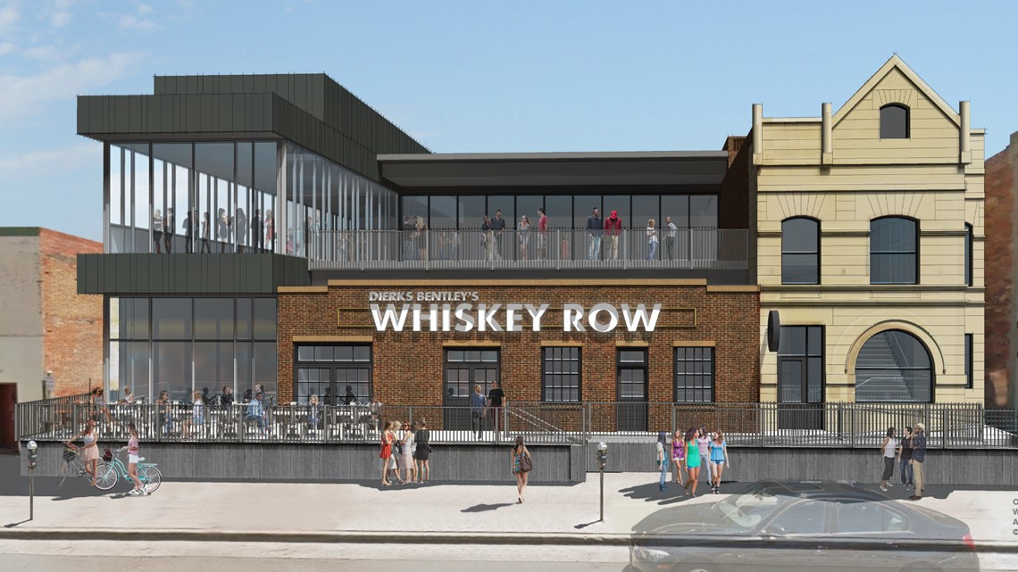 Dierks Bentley to open 'Whiskey Row' restaurant in LoDo in 2021