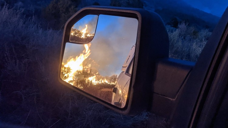 Fire burned in Rio Blanco County charring 890 acres; 100% contained