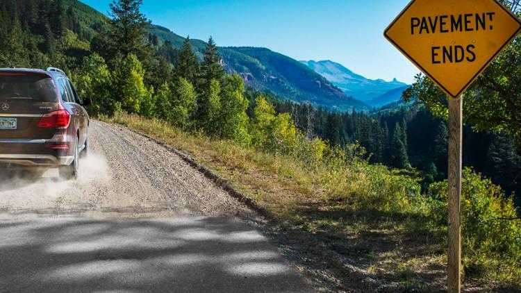 Road to Geyser Springs