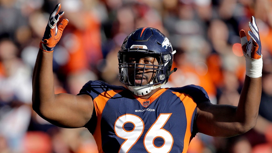 Free agency didn't go as planned, but Shelby Harris pleased he's still a Bronco