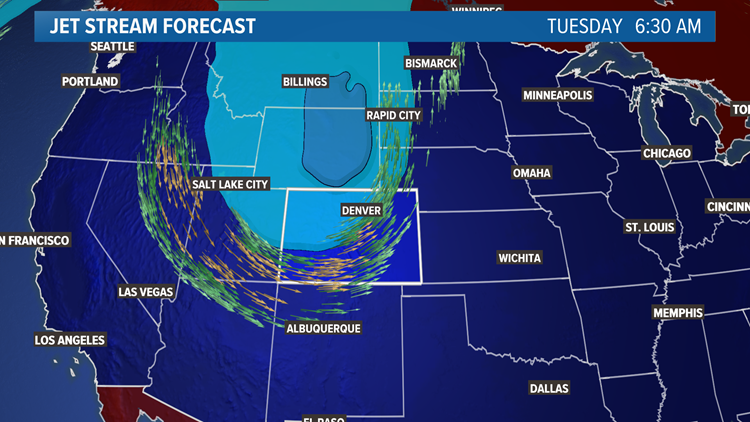 Snow blog: First fall storm system coming to Colorado