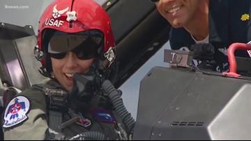 Mikaela Shiffrin takes flight with the Thunderbirds
