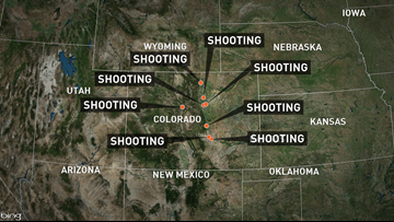 10 officer-involved shootings reported in Colorado over 7 days