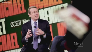 Does The New York Times know Michael Bennet's still running for president?