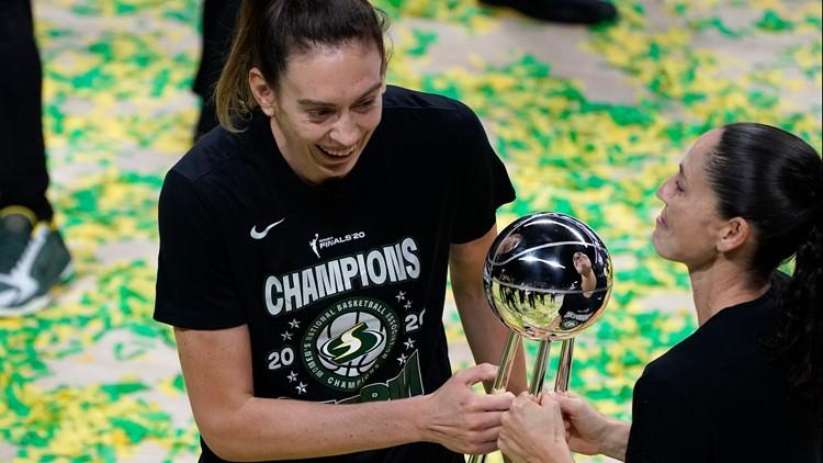 Stewart leads Seattle to 2nd WNBA title in 3 years