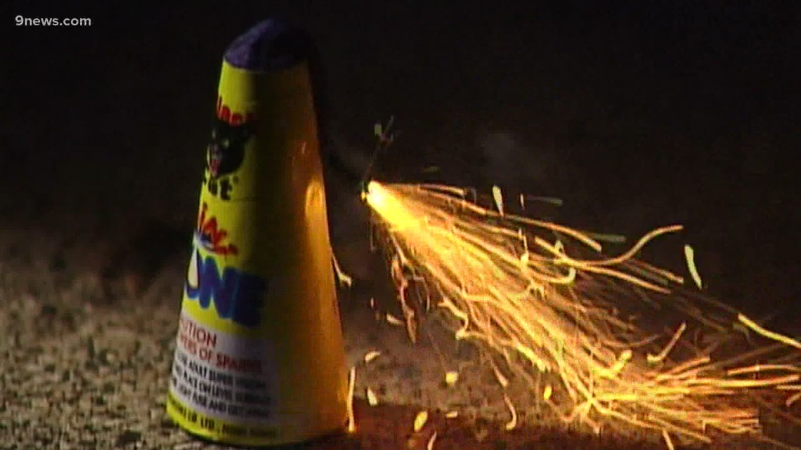 Denver Fire and Denver Police ask that people leave fireworks to the pros