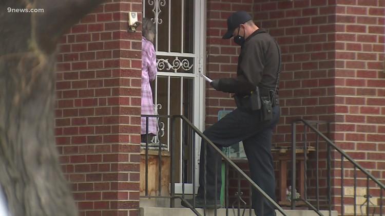 Denver officer shot in leg in Sunnyside neighborhood