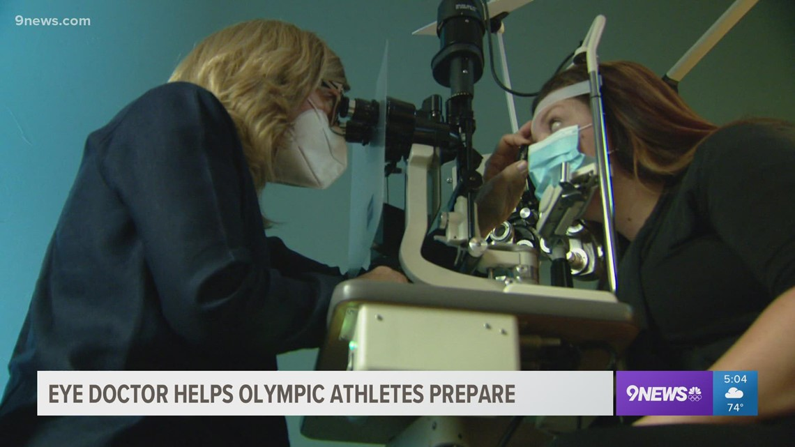 Colorado eye doctor helping Team USA Olympians go for the gold