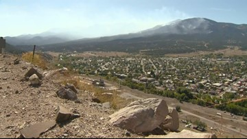 Decker Fire reaches over 6,100 acres