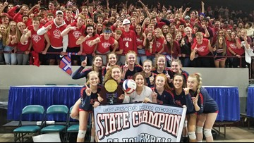 Chaparral tops Valor Christian for 5A volleyball championship