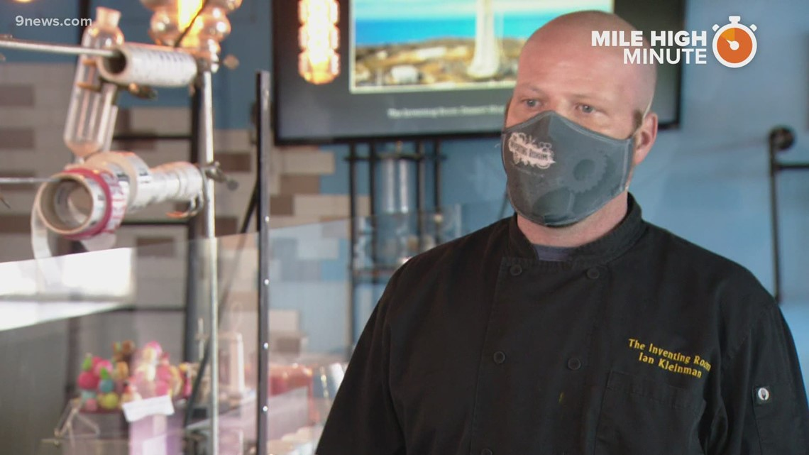 Mile High Minute: The Inventing Room Dessert Shop